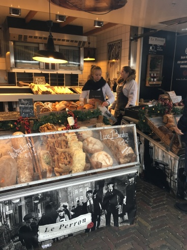 Bread and Pastries at the markets in Jordaan