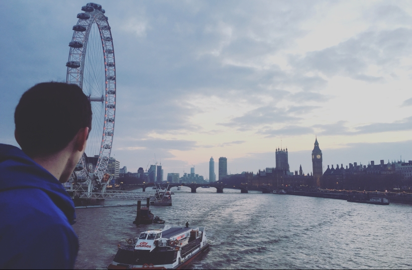 Aidan in London