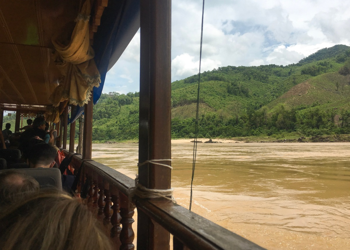Thailand to Laos: The Two Day Slow Boat to Luang Prabang